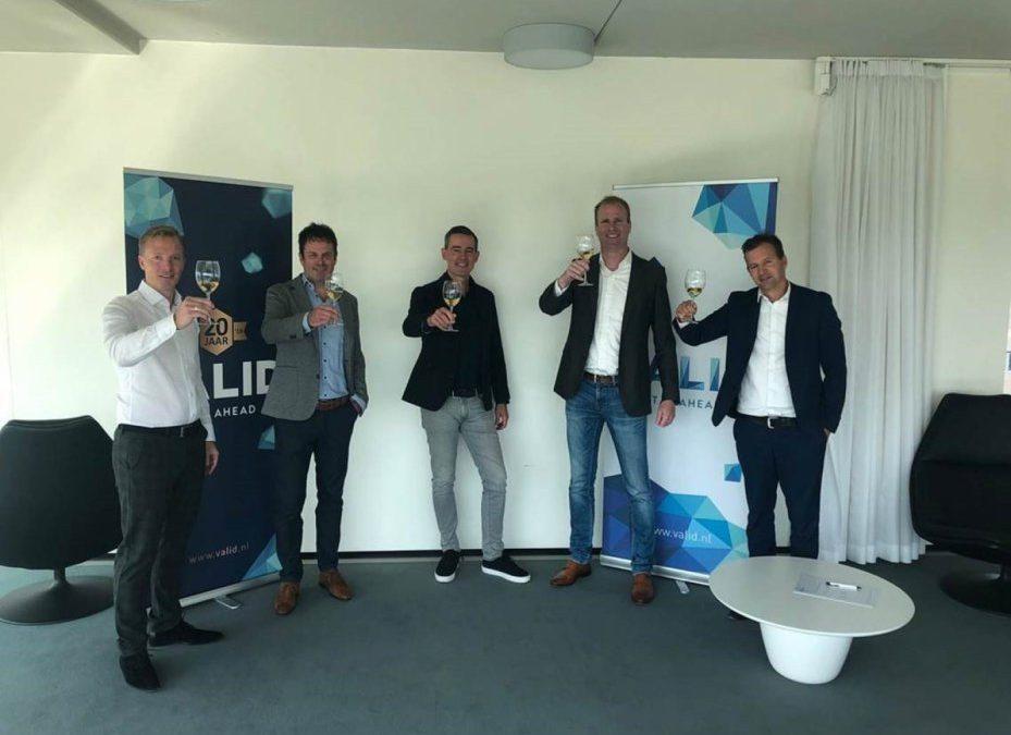 Valid en KPN IoT sluiten partnerovereenkomst